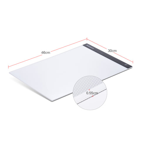 Image of Portable A3 LED Light Table For Drawing