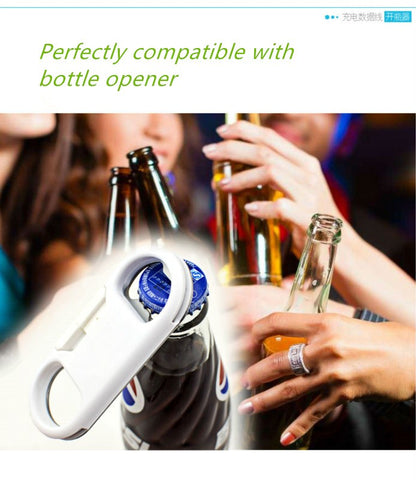 Image of Multi-function Bottle Opener with Mini USB