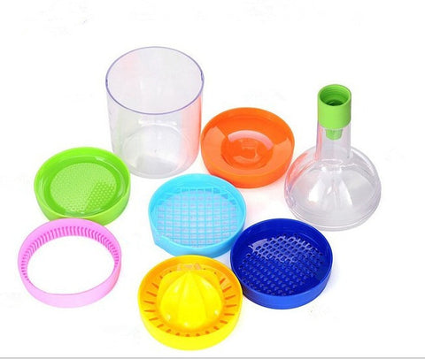 Image of 8 In 1 Bottle Shape Professional Slicer