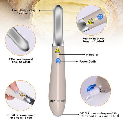 Image of Heating Butter Knife Spreader