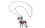 Enamel Jack Russel necklace