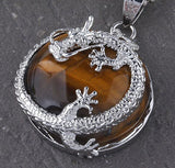 Dragon stone necklace