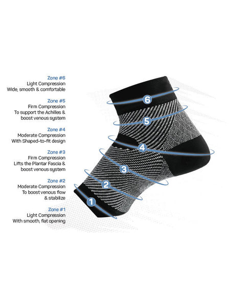 OS1st® FS6 Sports Compression Foot Sleeve (Pair)