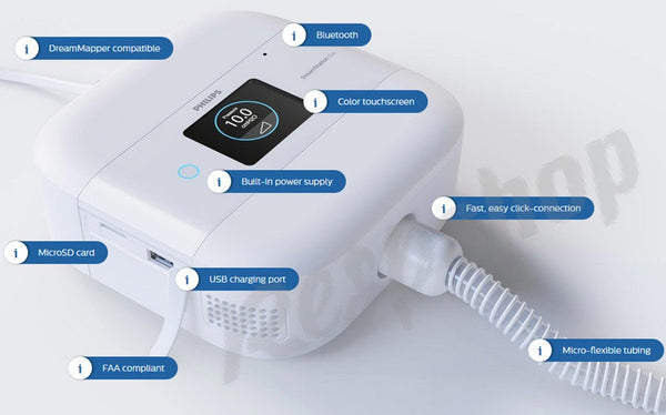 Philips DreamStation Go Auto CPAP Machine