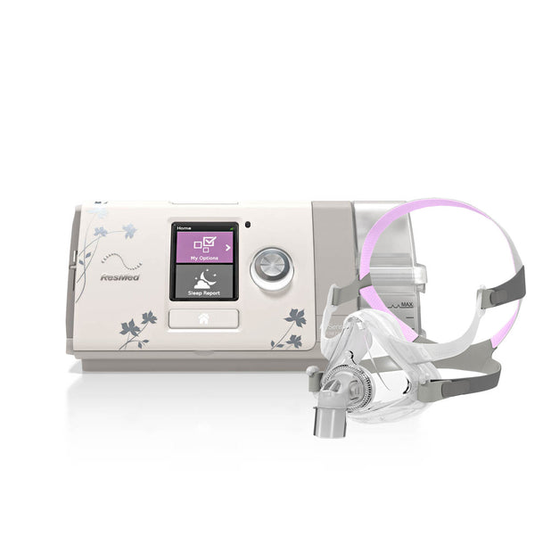 ResMed CPAP AirSense 10 AutoSet for Her Package Includes Mask and More