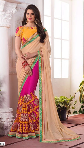 Tortilla Embroider saree