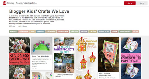 Blogger Kids' Crafts We Love