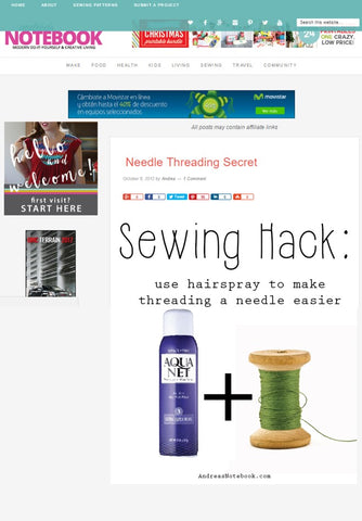 Needle Threading Secret