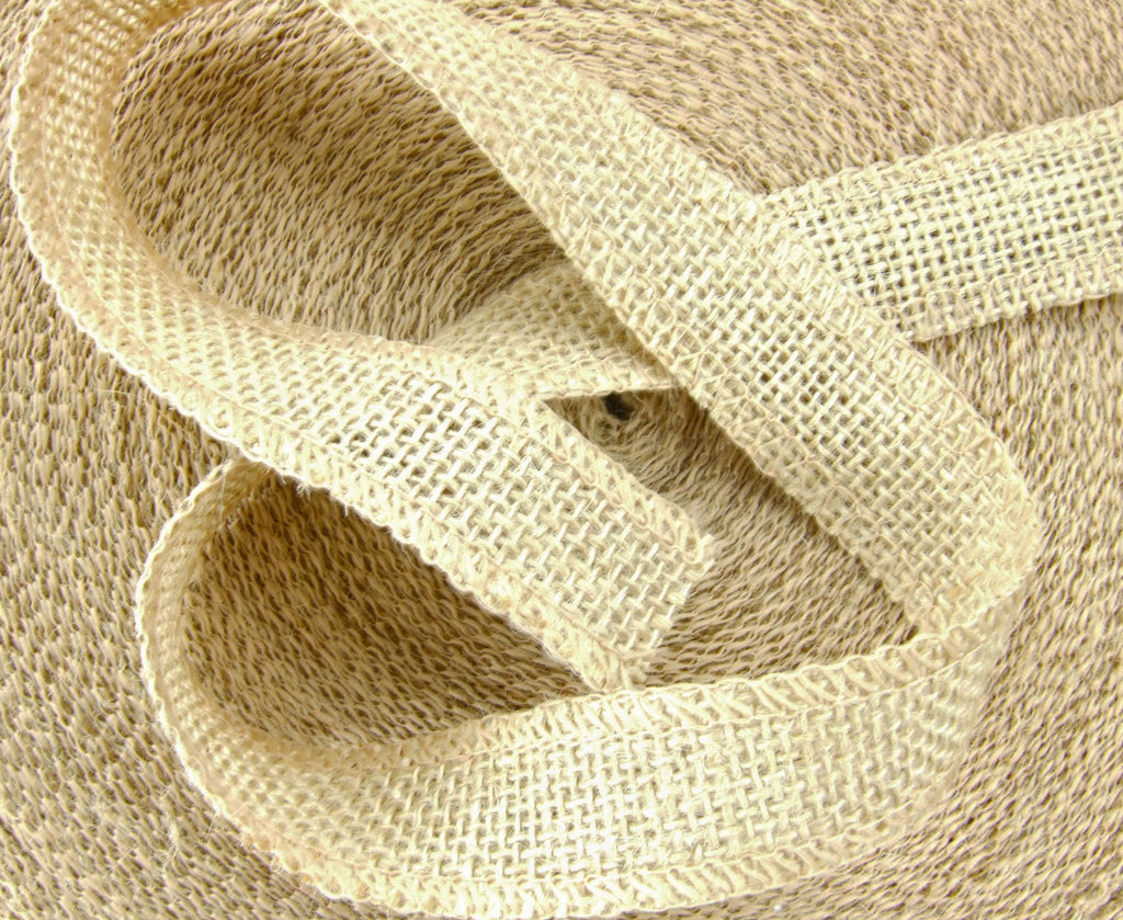 1 Burlap Ribbon. 50 Yards