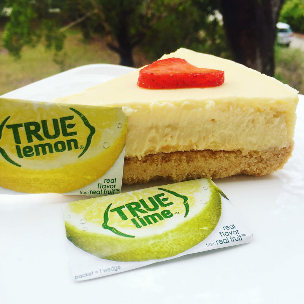 True Lemon & True Lime Cheesecake.