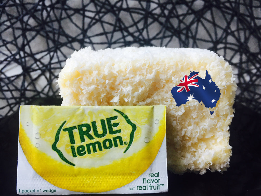 True Lemon Lamingtons.