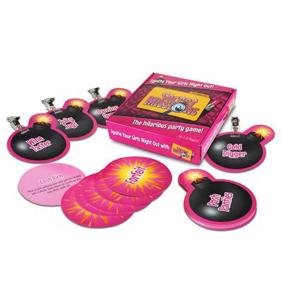 Secret Missions - Girls Night Out Party Game