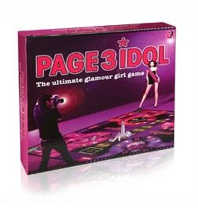 Page3 Idol Boardgame