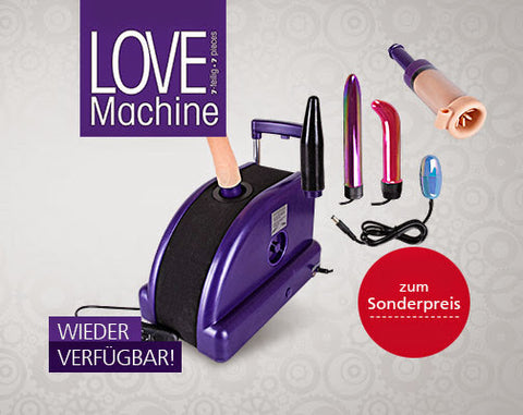 Love Machine - Including 6 Pleasure Attachments