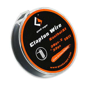 Wire - Kanthal A1 - Clapton - 28/32 Gauge 15ft Reel - Vape Gold Coast