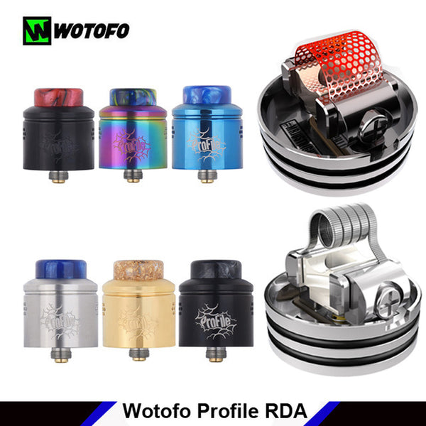 wotofo profile rda easy to build mesh dripper Vape gold coast
