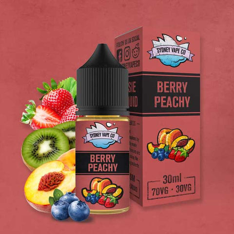 Sydney Vape Co - Berry Peachy