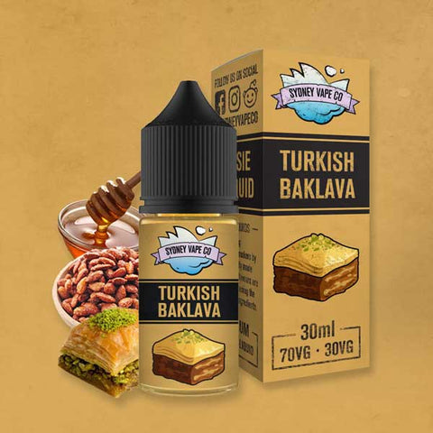 Sydney Vape Co - Turkish Baklava