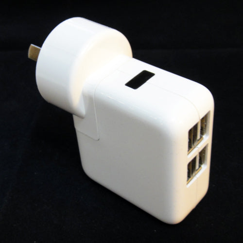 Quad usb 2100mAh (2.1amp) AU wall charger - Vape Gold Coast