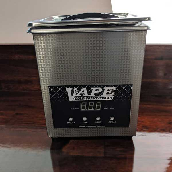 2l (2000ml) Ultrasonic Cleaner - Vape Gold Coast