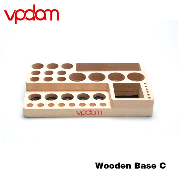 VPDAM Wooden Base Tank/Mod/Juice Stands