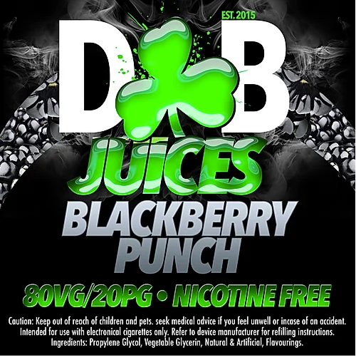 D&B Juice - Blackberry Punch