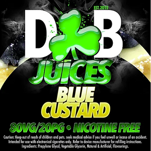 D&B Juice - Blue Custard