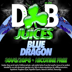 D&B Juice - Blue Dragon
