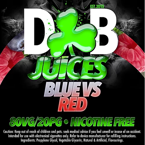 D&B Juice - Blue VS Red