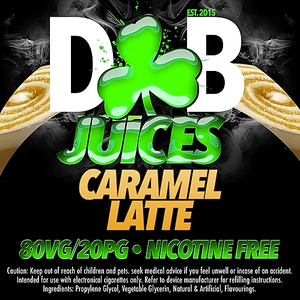 D&B Juice - Caramel Latte