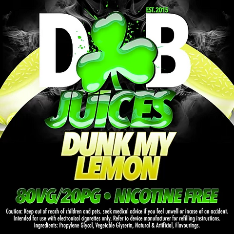 D&B Juice - Dunk My Lemon