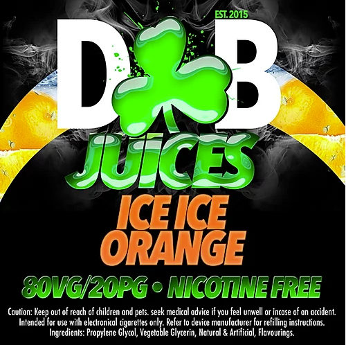 D&B Juice - Ice Ice Orange