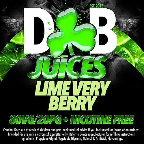D&B Juice - Lime Very Berry