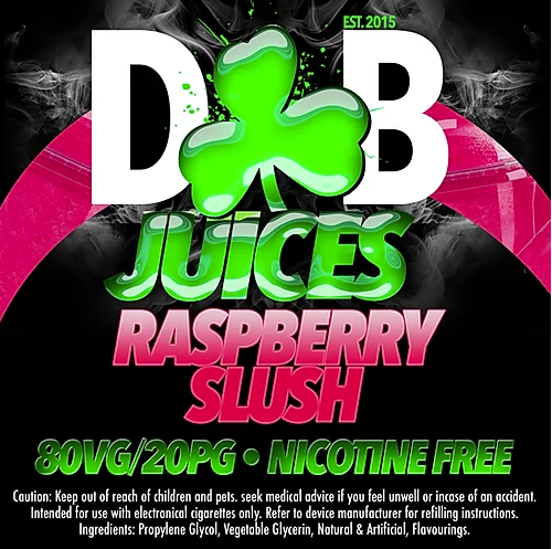 D&B Juice - Raspberry Slush
