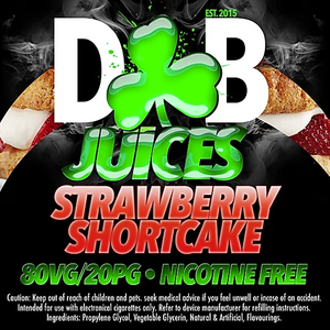 D&B Juice - Strawberry Shortcake