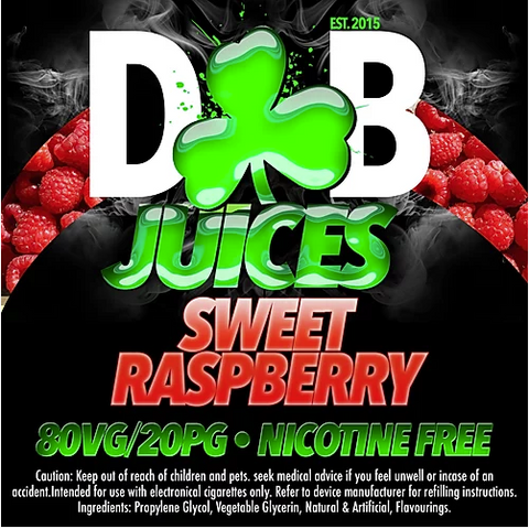 D&B Juice - Sweet Raspberry