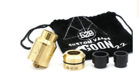 528 Customs Goon Style 22mm RDA - Vape Gold Coast