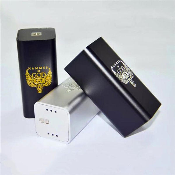 Hammer Of God V3 style Series+Parallel Mechanical Box Mod - Vape Gold Coast