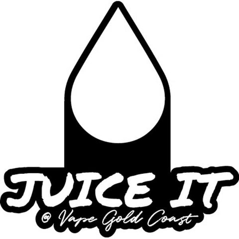 Vape Gold Coast Juice It Stickers