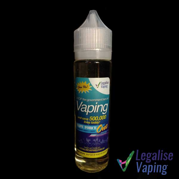 Legalise Vaping - Vape Force One - 60ml RTV