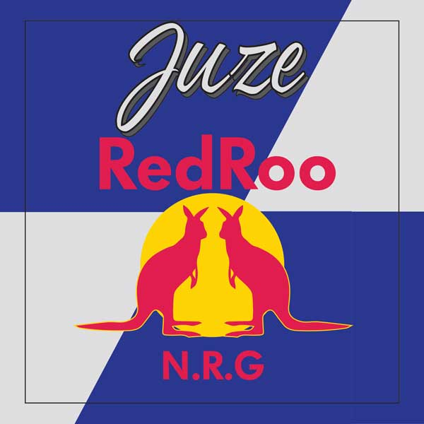 Juze - Red Roo N.R.G - Pre Production Bottle
