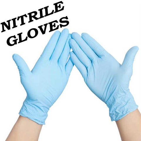 Disposable Nitrile Gloves for DIY Mixing