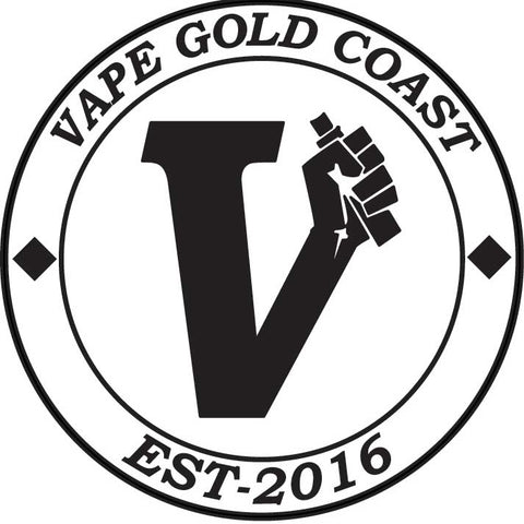 Vape Gold Coast Circle Logo Stickers