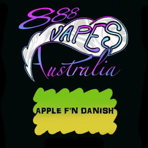 888Vapes - Apple F'n Danish - Vape Gold Coast