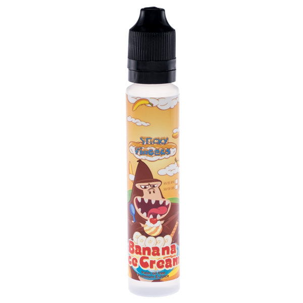 Sticky Fingers - Banana Ice Cream - Vape Gold Coast
