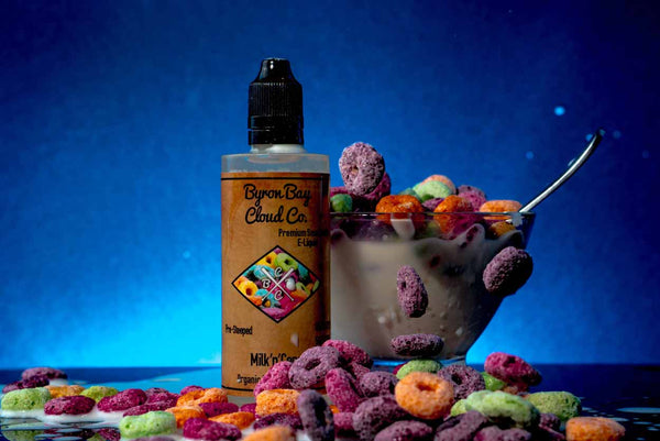 Byron Bay Cloud Co - Milk'n'Cereal - Vape Gold Coast