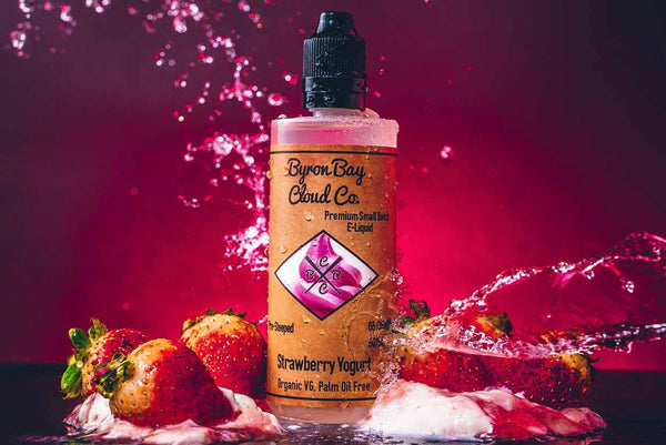 Byron Bay Cloud Co - Strawberry Yoghurt - Vape Gold Coast