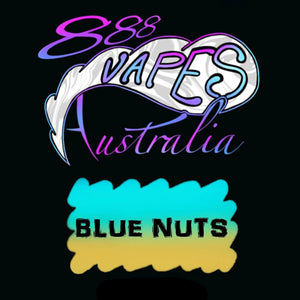888Vapes - Blue Nuts - Vape Gold Coast