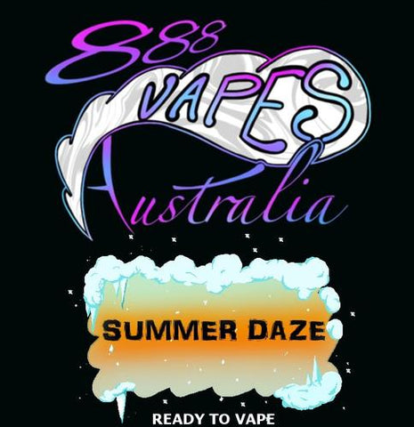 chilld summer daze 888 vapes australia ejuice vape