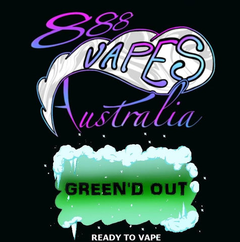 888Vapes - Chill'd Green'd Out - Vape Gold Coast